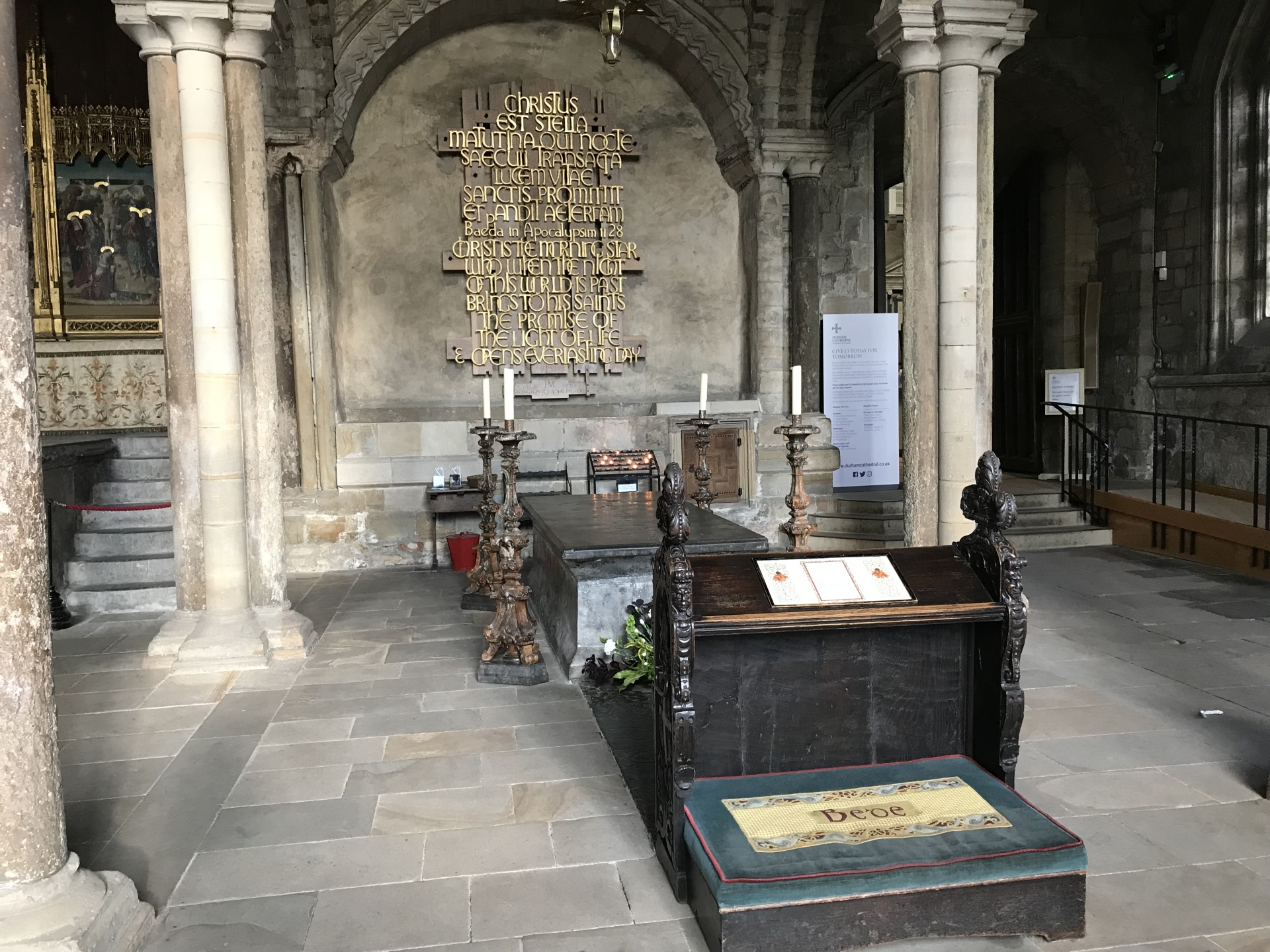 Saint Bede's Tomb